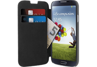 PURO Wallet SMG Galaxy S4 Ecoleather Flip/Credit Card Black