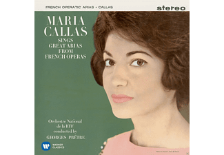 Maria Callas, Orchestre National De La Radiodiffusion Francaise, Orchestre National de la Radiodiffusion Française/Georges Prêtre, Orchestra Of The Royal Opera House - Callas A Paris I (Remastered 2014) [CD]