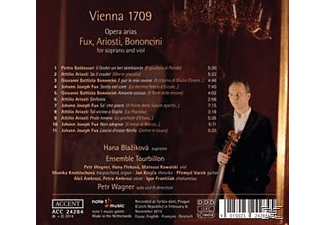 Hana Blazikova;Ensemble Tourbillon - Vienna 1709 - Opera Arias [CD]