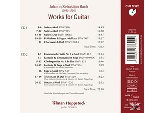 Tilman Hoppstock - Works For Guitar - (CD)