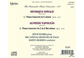 Arthur Pizarro;Bbc National Orchestra Of Wales - Das Romantische Klavierkonzert Vol.64 [CD]