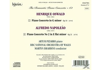Arthur Pizarro;Bbc National Orchestra Of Wales - Das Romantische Klavierkonzert Vol.64 - (CD)
