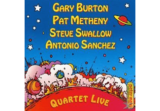 Gary Burton, Burton,Gary/Metheny,Pat/Swallow,S./Sanchez,A. - Quartet Live! - (CD)
