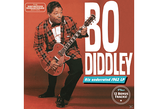 Bo Diddley - Bo Diddley + 12 Bonus Tracks [CD]