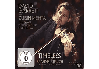 David Garrett, Israel Philharmonic Orchestra - Timeless-Brahms & Bruch Violin Concertos [CD + DVD Video]