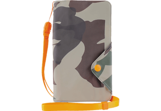 "PURO Water-Resistant Booklet Case fits up to 4,7"" Army"