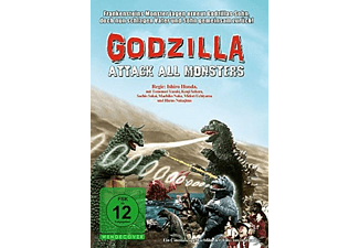 GODZILLA-ATTACK ALL MONSTERS - (DVD)