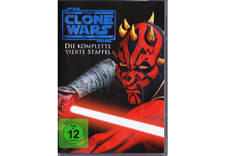 Star Wars: The Clone Wars - Staffel 4 [DVD]