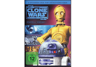 Star Wars: The Clone Wars - Staffel 4, Vol. 1 [DVD]