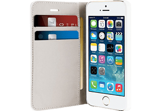 PURO PU-085796 Bookcover Apple iPhone 5, iPhone 5s Polyurethan/Polycarbonat Weiß