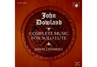 Jakob Lindberg - Dowland: Complete Lute Music - (CD)