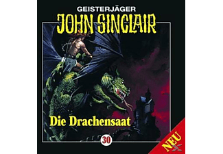 John Sinclair 30: Die Drachensaat (Teil 2/2) - 1 CD - Horror