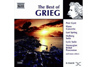VARIOUS - Best Of Grieg - (CD)