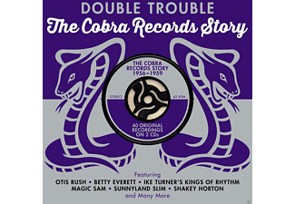 VARIOUS - Double Trouble-Cobra Records Story 1956-1959 - (CD)