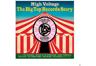 VARIOUS - High Voltage-Big Top Records - (CD)