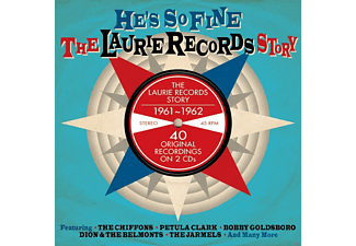 VARIOUS - He's So Fine - Laurie Records Story - (CD)