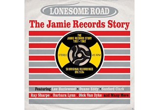 VARIOUS - Lonesome Road-The Jamie Records Story - (CD)
