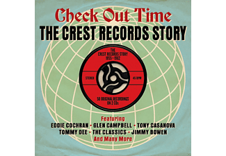VARIOUS - Check Out Time - The Crest Records Story - (CD)