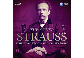 Különböző előadók - The Other Strauss - Symphonic, Vocal and Chamber Music (CD)
