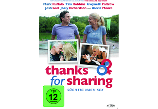 THANKS FOR SHARING - SÜCHTIG NACH SEX [DVD]