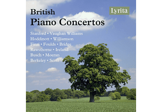 VARIOUS - British Piano Concertos - (CD)