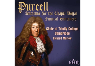 Choir Of Trinity College, Cambridge, The - Purcell: Anthems For The Chapel Royal / Funeral Sentences - (CD)