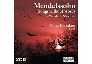 Rena Kyriakou - Songs Without Words - (CD)