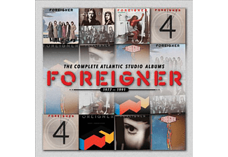 Foreigner - The Complete Atlantic Studio Albums 1977-1991 (CD)