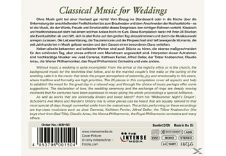 Various - Classical Music For Weddings [CD]