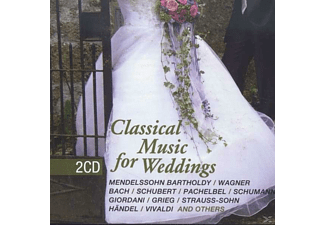VARIOUS - Classical Music For Weddings - (CD)