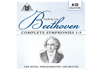 VARIOUS, Royal Philharmonic Orchestra - Complete Symphonies 1-9 [CD]