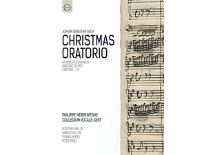 VARIOUS, Collegium Vocale Gent - Christmas Oratorium - (DVD)