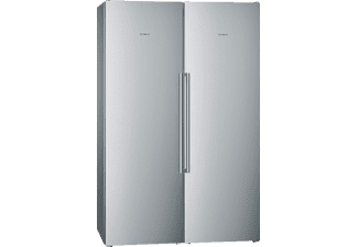 SIEMENS KA99FPI35 Side-by-Side (234 kWh, A++, 1860 mm hoch, Edelstahl)