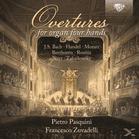 Pasquini,Pietro/Zuvadelli,Francesco - Overtures Played On Organ 4-Hands [CD] - broschei