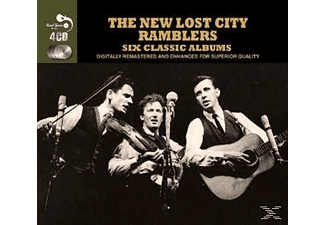 The New Lost City Ramblers - 6 Classic Albums - (CD)