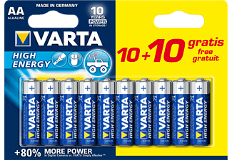 VARTA High Energy AA 10+10