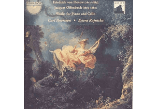 Carl Petersson, Estera Rajnicka - Works for Piano and Cello - (CD)