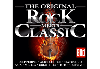 VARIOUS - Rock Meets Classic - (CD)