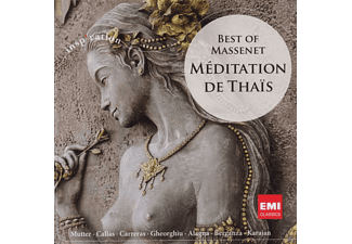 VARIOUS - MEDITATION DE THAIS (BEST OF MASSENET) - (CD)
