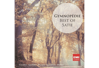 Orchestra Of The Royal Opera House, John Lanchbery, Orchestre De Paris, Jean Pierre Armengaud, Ciccolini Aldo, Queffelec Anne, Pierre Dervaux - Gymnopedie-Best Of Satie [CD]