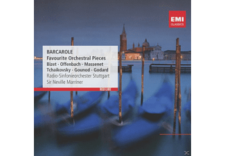Radio-Sinfonieorchester Stuttgart, Sir Neville Marriner - Barcarole-Favorite Orchestral Pieces [CD]