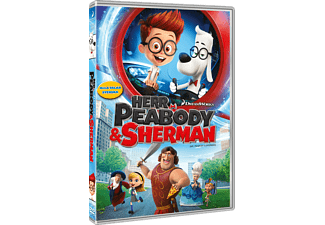 Herr Peabody & Sherman Animation / Tecknat DVD