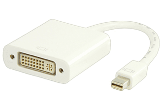 VALUELINE Mini Displayport till DVI Adapter Vit