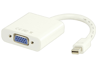 VALUELINE Mini Displayport till VGA Adapter Vit