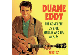 Duane Eddy - The Complete Us & Uk Singles And Eps As & Bs - 1955-1962 - (CD)