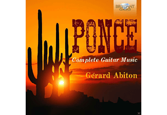 Gerard Abiton - Complete Guitar Music - (CD)