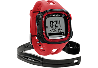 GARMIN Forerunner 15 Large Bundle Red & Black  - (GA-010-01241-51)