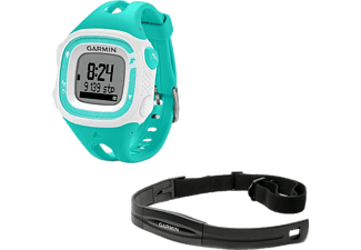 GARMIN Forerunner 15 Small Bundle Teal & White (GA-010-01241-71)