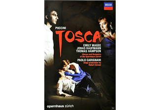 Emily Magee;Jonas Kaufmann;Thomas Hampson;Chorus And Orchestra Of The Opernhaus Zürich - Tosca - (DVD + Video Album)