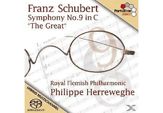 "Philippe & Royal Flemish Philharmonic Herreweghe - Symphony No. 9 in C - ""The Great"" - (CD)"